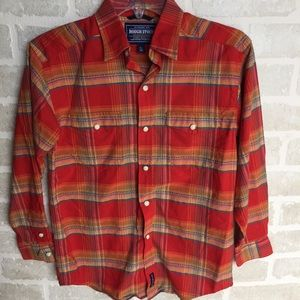 Boys size 14 Rough Stuff western shirt
